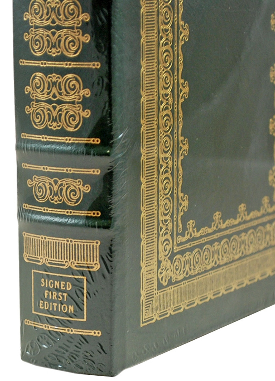 """Easton Press, Stephen E. Ambrose """"Citizen Soldiers"""" Signed First Edition, Leather Bound Collector's Edition of only 1,000  [Sealed]"""