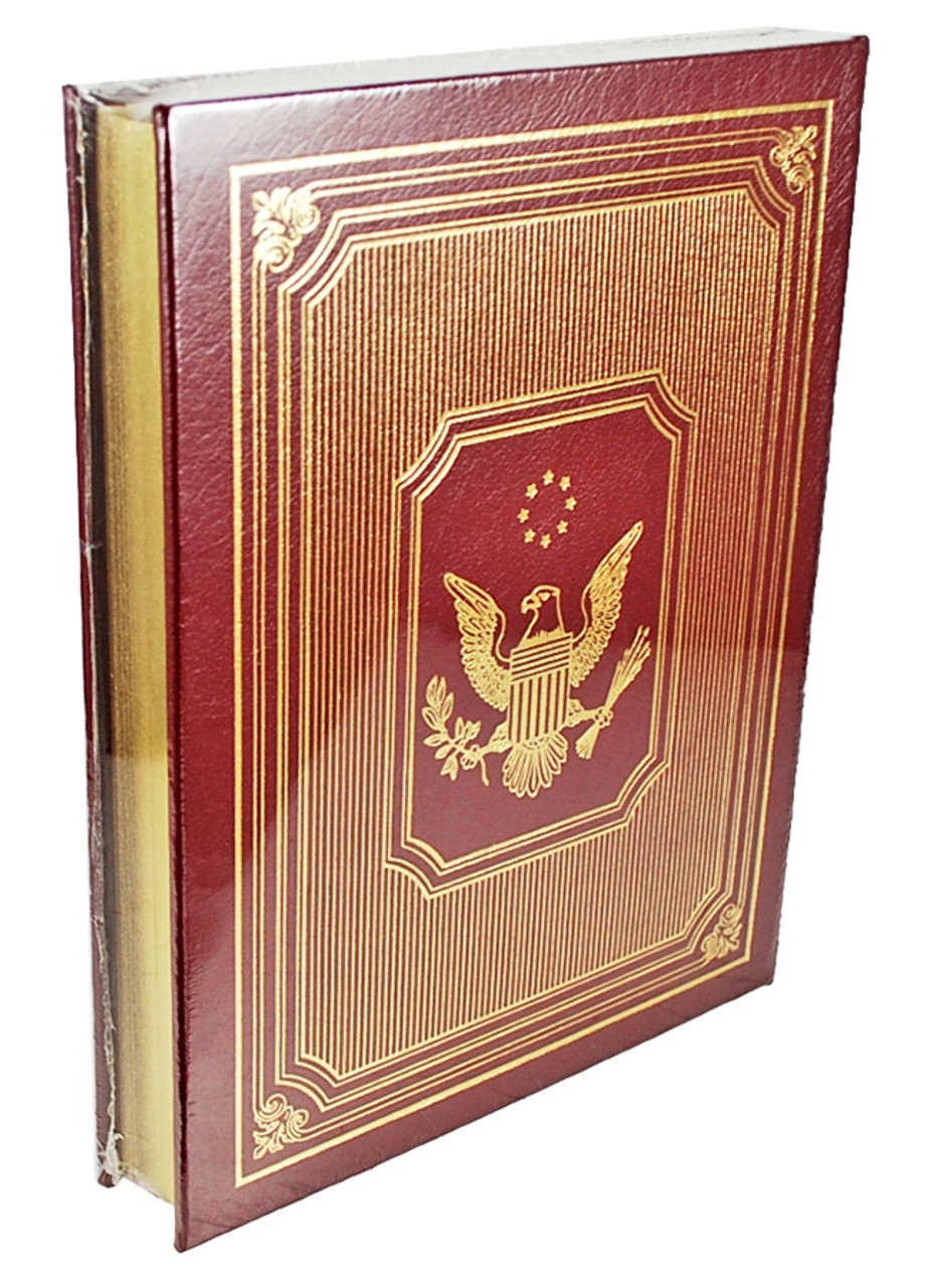 "Easton Press, Ronald Reagan  ""A SHINING CITY"" Signed First Edition, Leather Bound Collector's Edition"