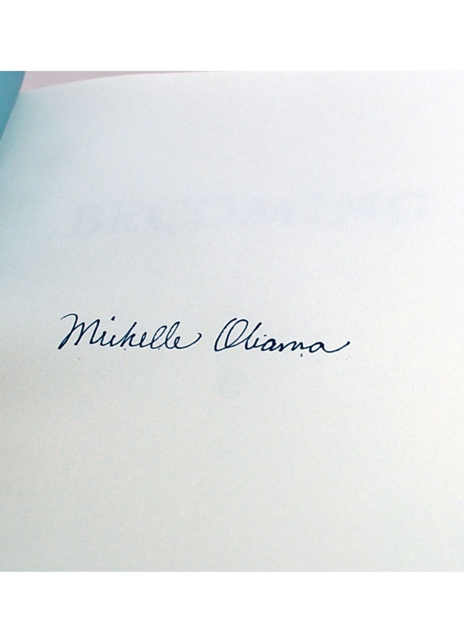 """Michelle Obama """"Becoming"""" Signed First Edition, First Printing [Very Fine]"""