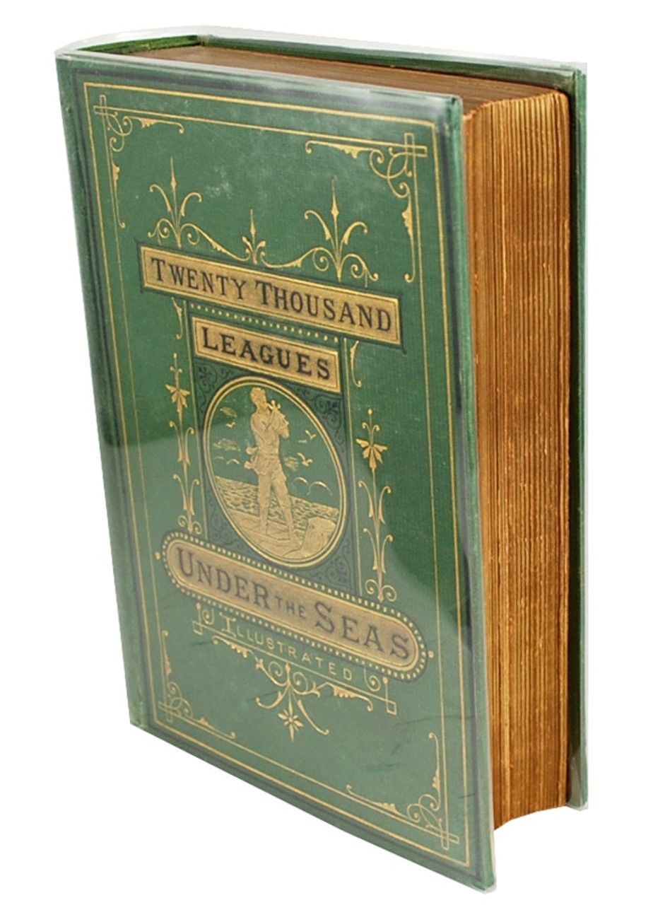 Geo M. Smith 1873 - Jules Verne TWENTY THOUSAND LEAGUES UNDER THE SEAS  First Edition/Second Printing [Near Fine]