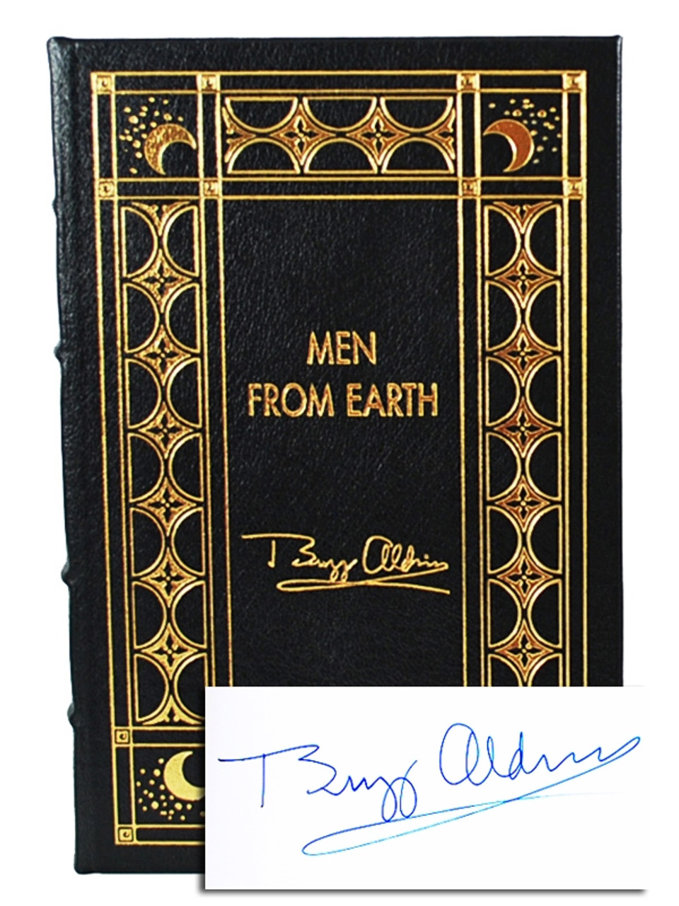 """Easton Press """"The Astronaut's Library"""" Signed Limited Edition, 7 Vols Complete Matching Leather Bound Collector's Set"""