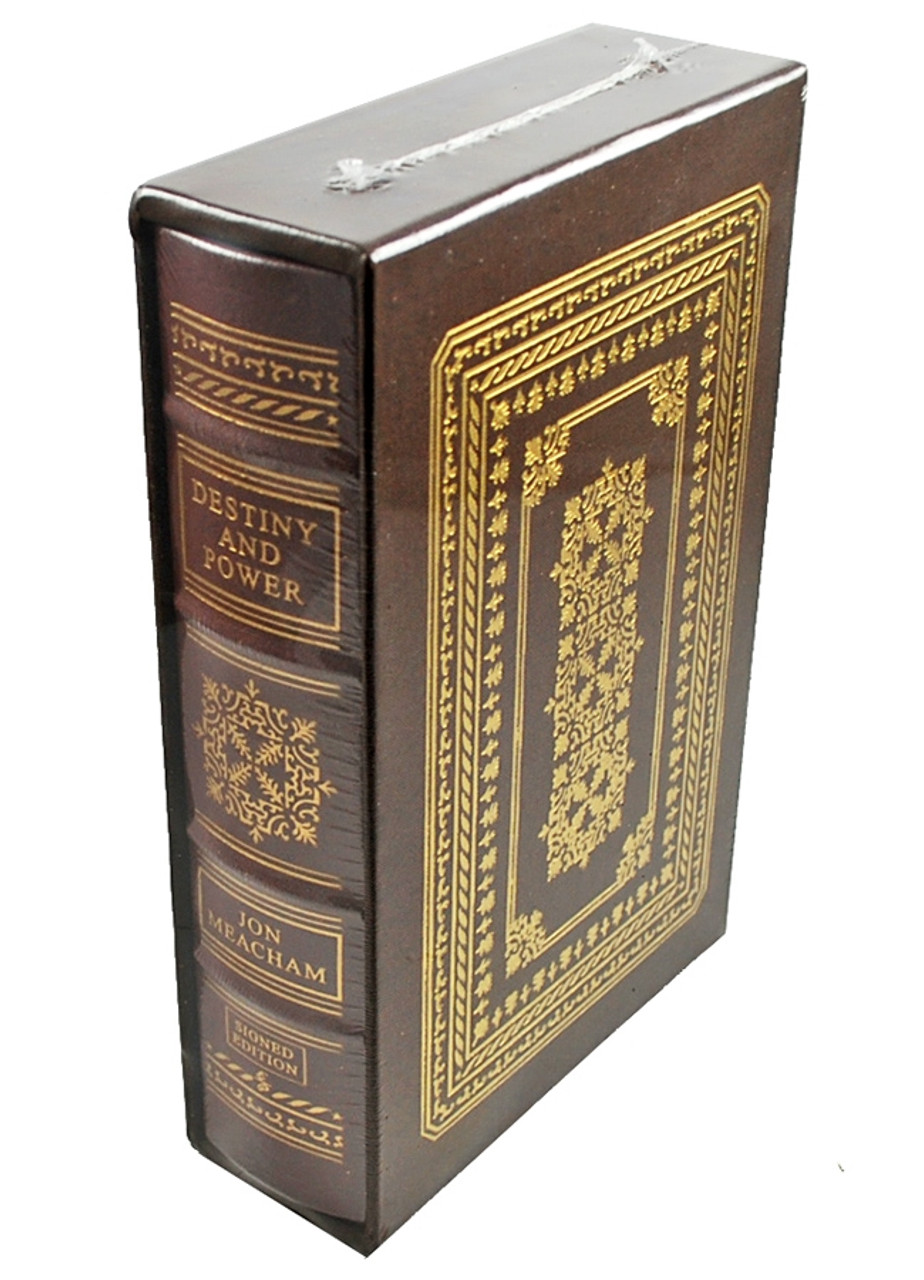 "Easton Press, George H.W. Bush, Jon Meacham ""Destiny And Power"" Signed Limited Deluxe Edition of only 250 [Sealed]"
