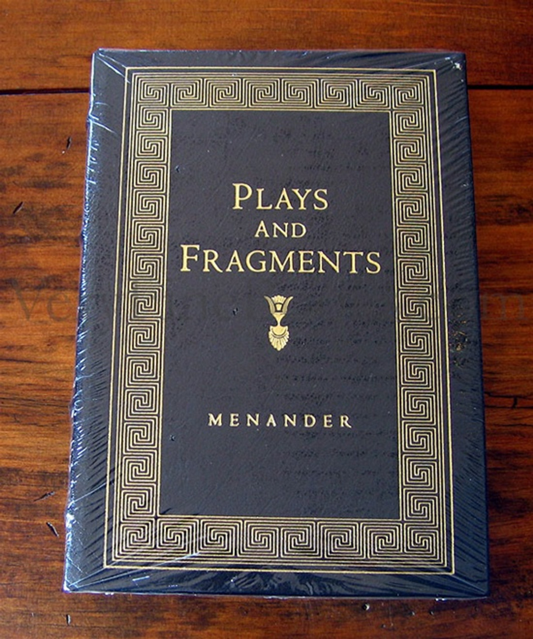 Plays Fragments Menander, Leather Bound, Easton Press Norma Miller