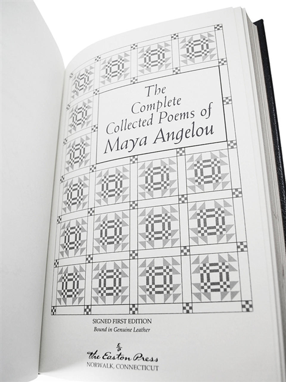 Easton Press Maya Angelou Complete Collected Poems