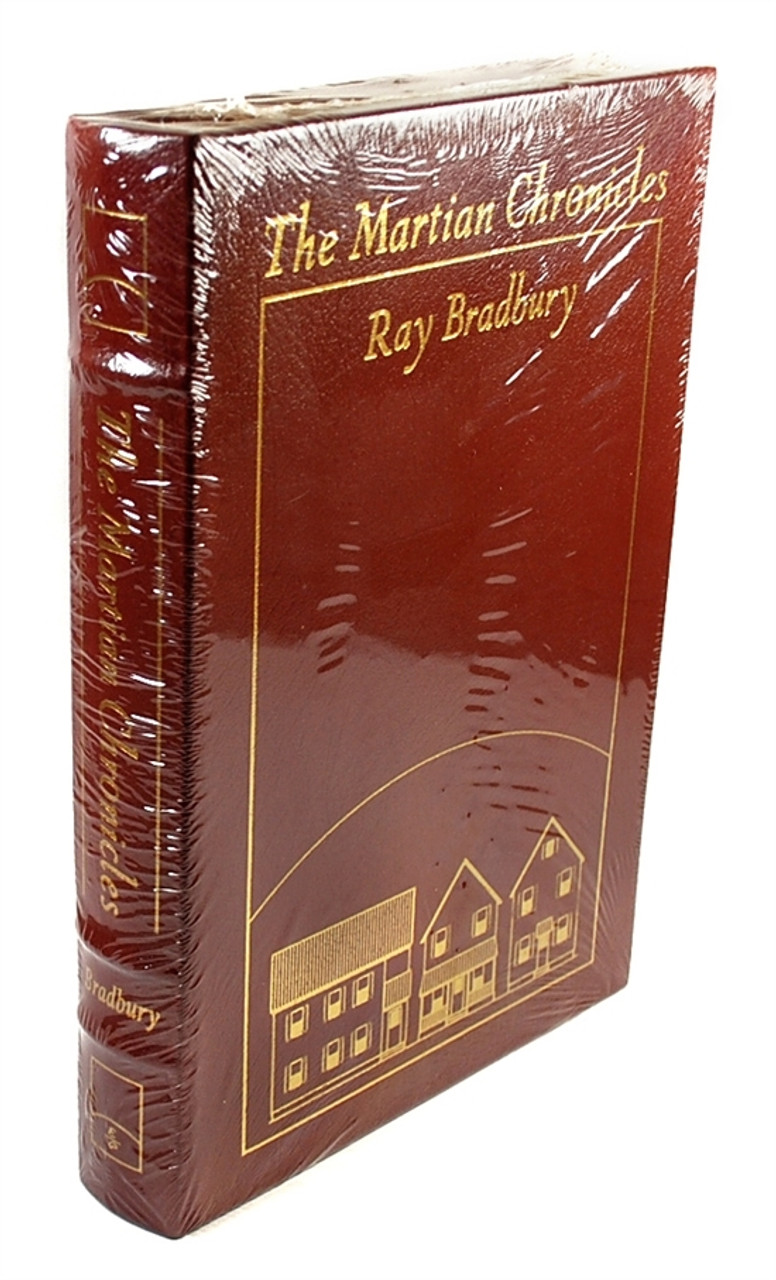 Easton Press - Ray Bradbury 'The Martian Chronicles' Signed Limited Edition - Leather Bound Sealed