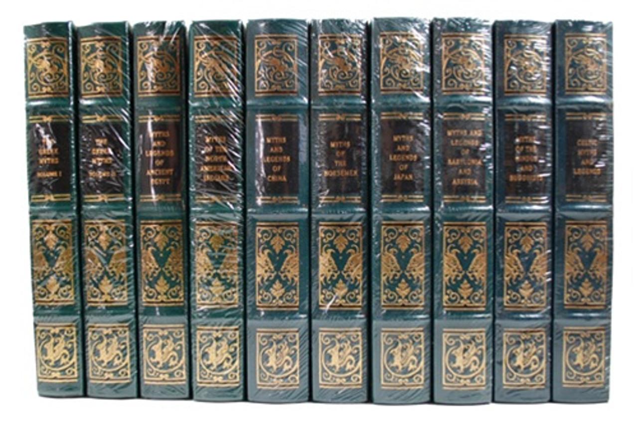 Easton Press Myths Ancient World Leather Bound Books