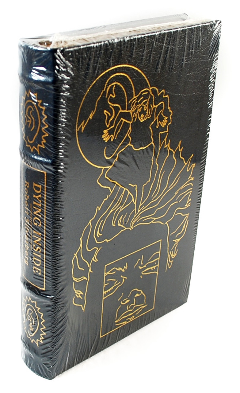 """Easton Press, Robert Silverberg """"Dying Inside""""  Signed Limited Edition, Leather Bound Collector's Edition w/COA"""