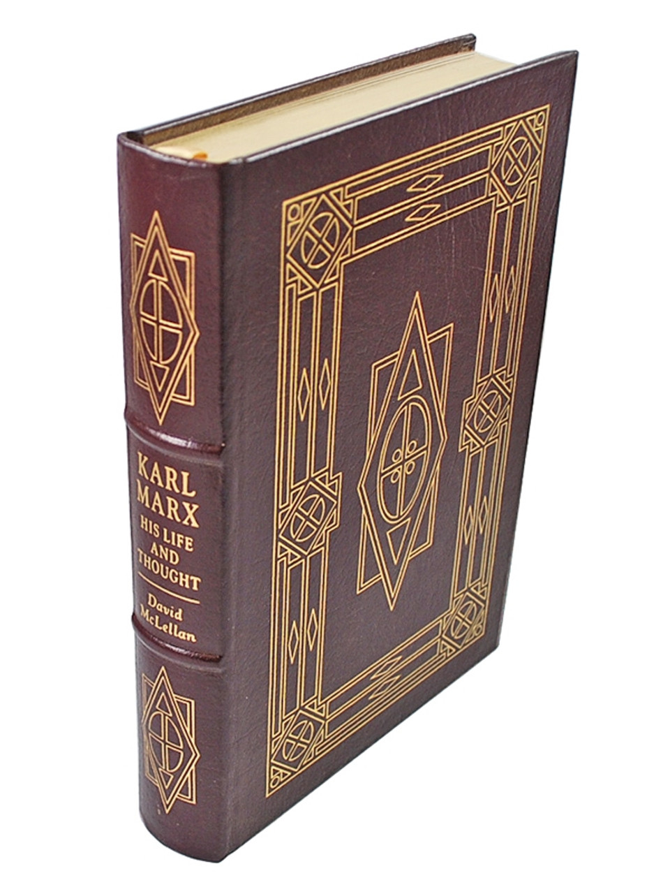 """David McLellan """"Karl Marx: His Life And Thought"""" Leather Bound Collector's Edition"""