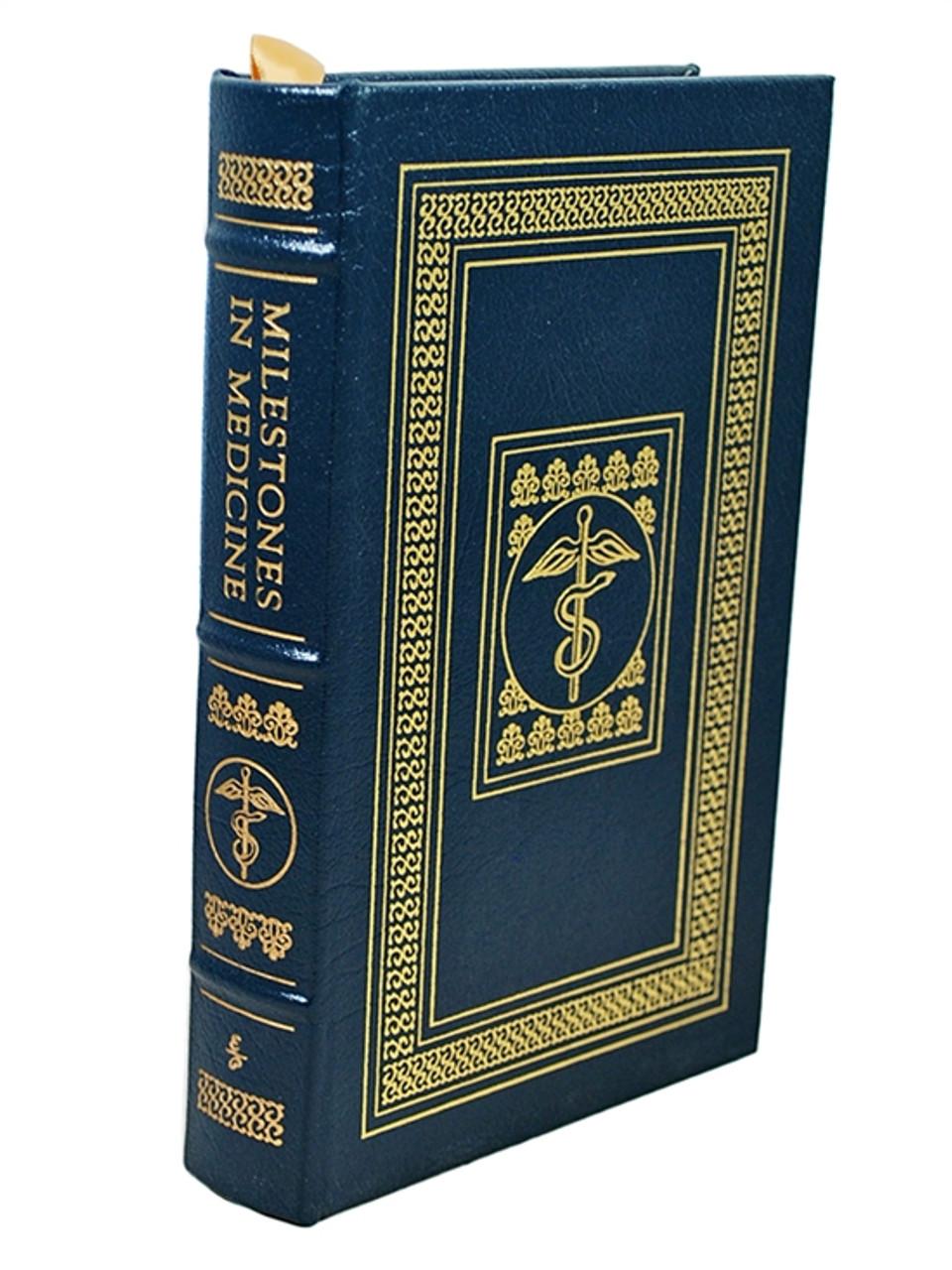 "Easton Press ""Milestones In Medicine"" William Rvey, leather bound [Very Fine]"