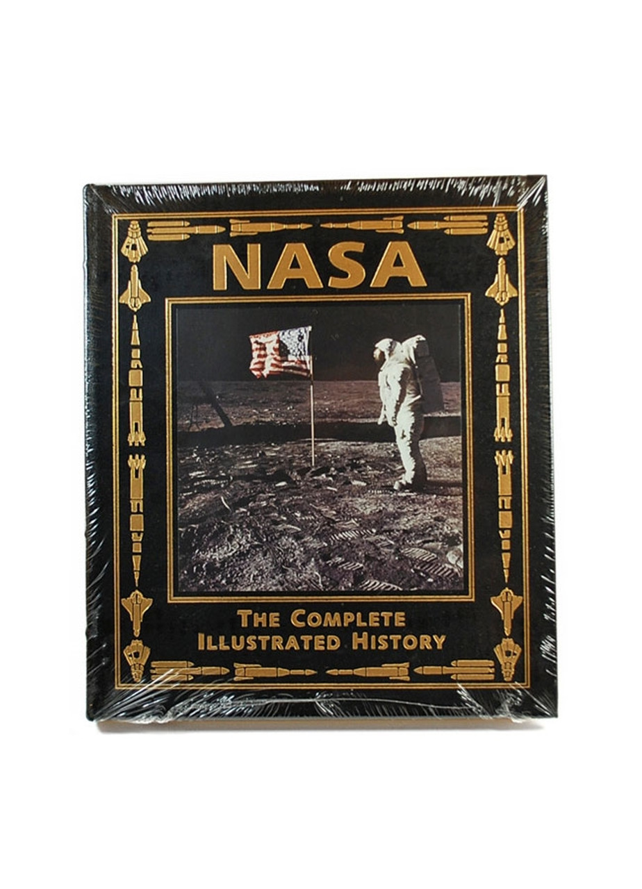 "Easton Press, NASA: The Complete Illustrated History"", Signed Limited Edition, Signed by Buzz Aldrin"