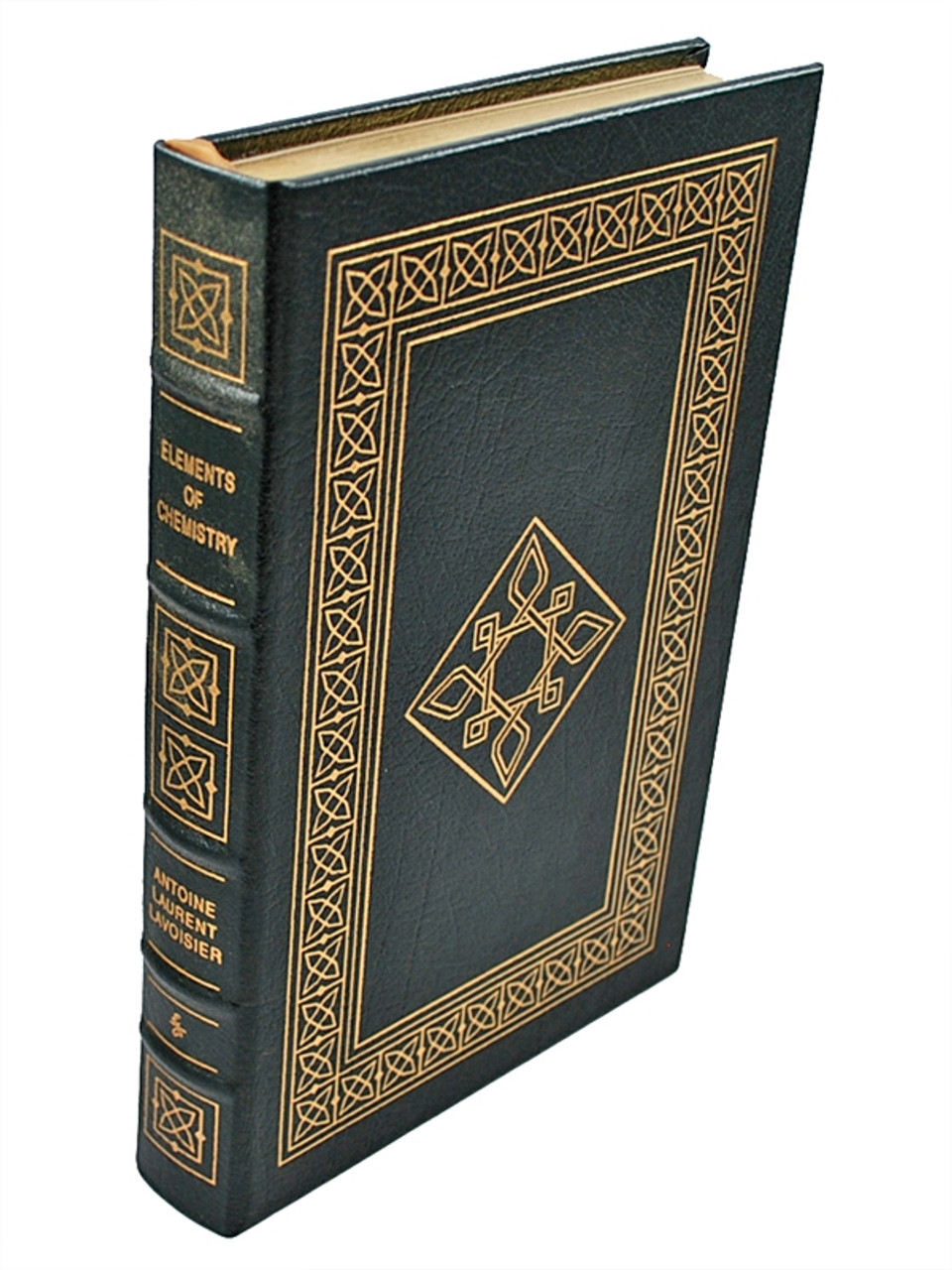 """Antoine Laurent Lavoisier """"Elements Of Chemistry"""" Leather Bound Collector's Edition [Very Fine]"""