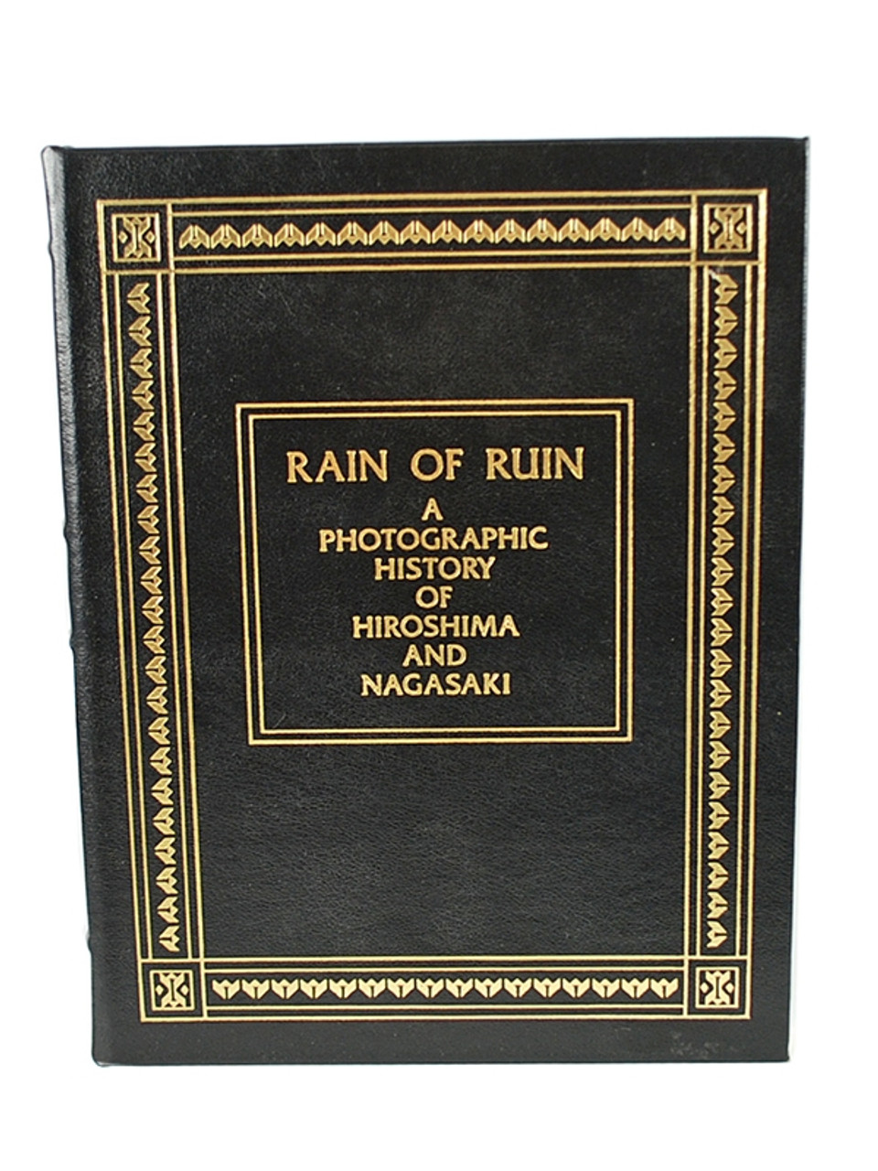 "Easton Press, Donald M. Goldstein ""Rain of Ruin"" Leather Bound Collector's Edition"