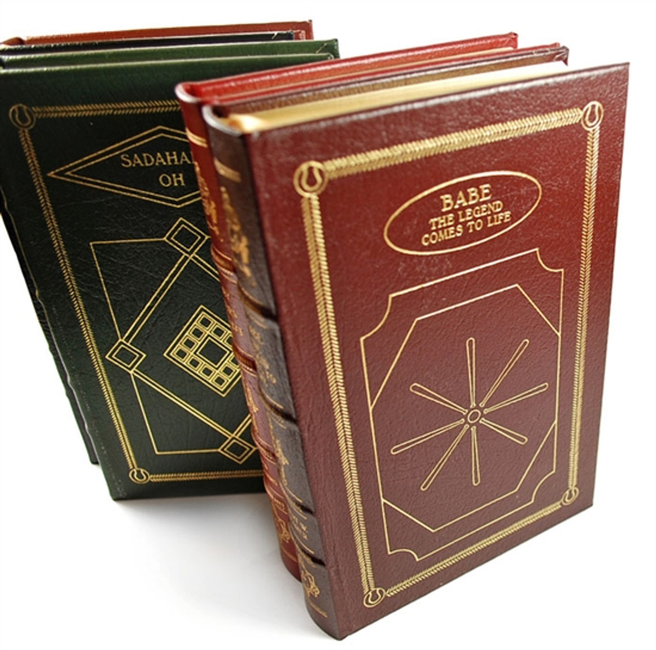 Easton Press Baseball Hall of Fame Library Books