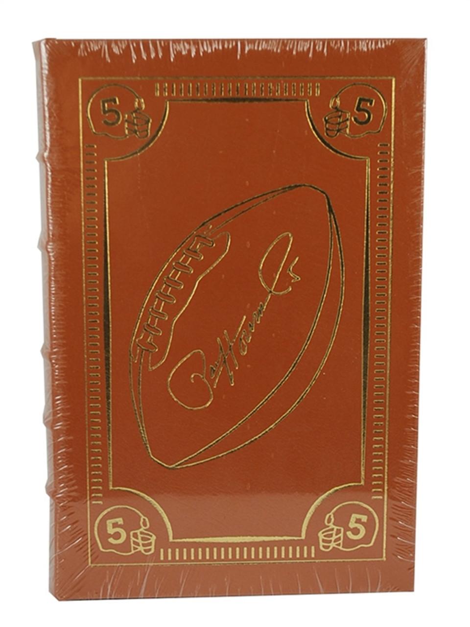 "Easton Press ""Golden Boy"" Paul Hornung, Signed First Edition [Sealed]"