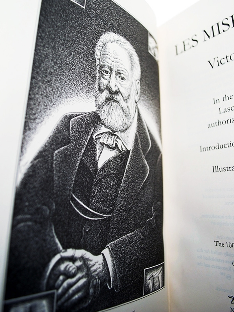 "Easton Press, Victor Hugo ""Les Miserables"" Leather Bound Limited Collector's Edition"