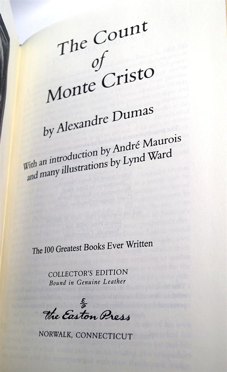 "Easton Press ""The Count Of Monte Cristo"" Alexandre Dumas"