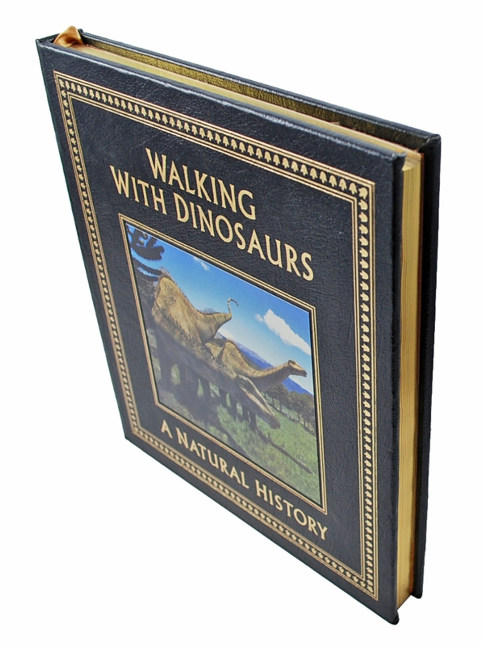 """Easton Press, Tim Haines """"Walking With Dinosaurs: A Natural History"""" Leather Bound Collector's Edition"""