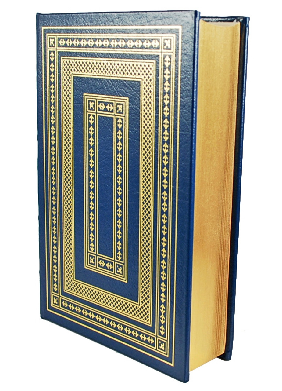 """Ayn Rand """"The Fountainhead"""" Leather Bound Collector's Edition [Very Fine]"""