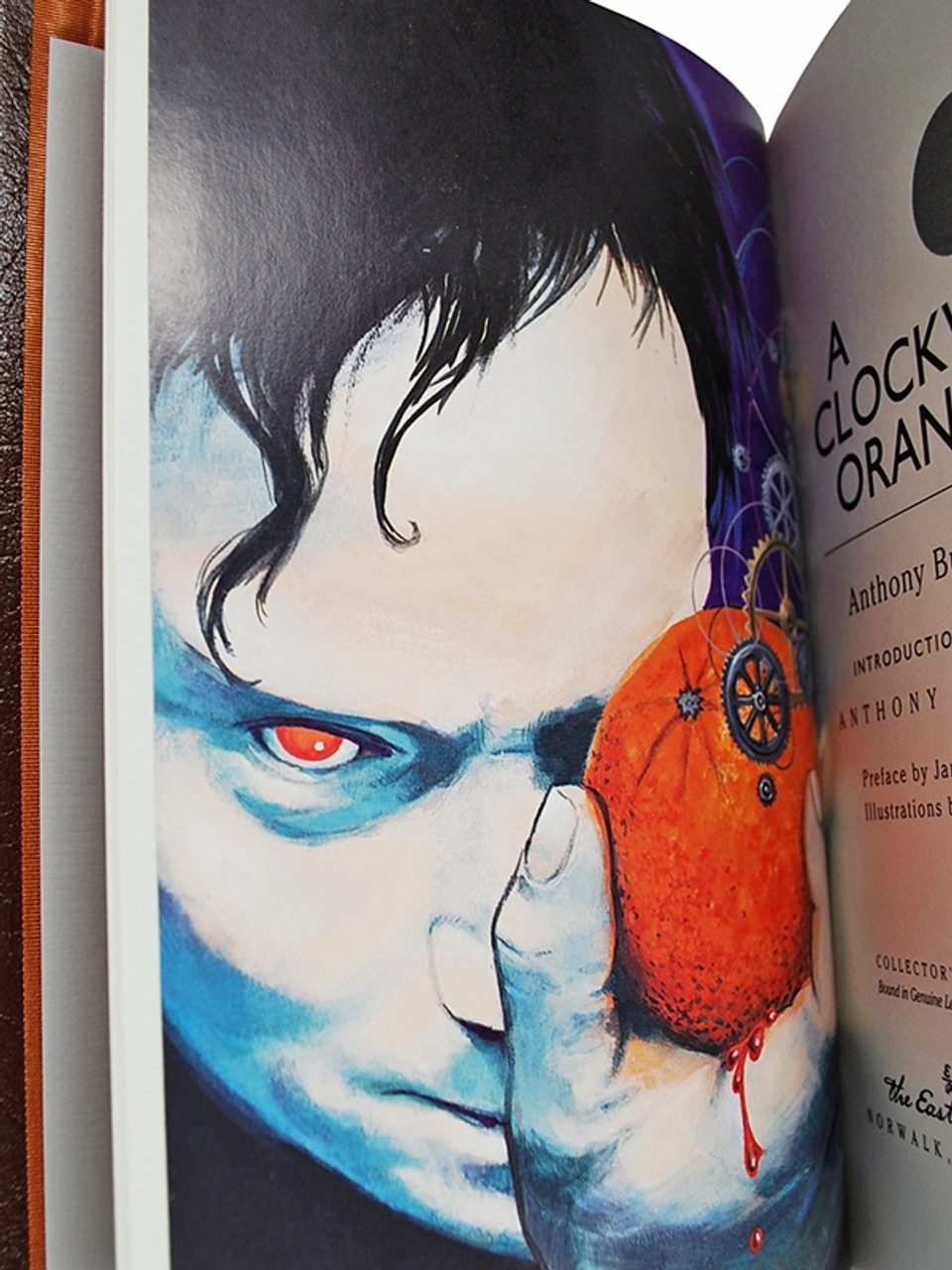 """Easton Press, Anthony Burgess  """"A Clockwork Orange"""" Leather Bound Collector's Edition [Very Fine]"""