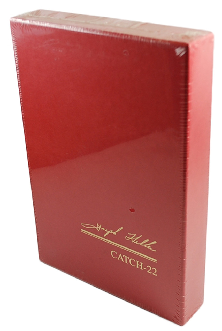 """Joseph Heller """"Catch-22"""" Signed Limited Collector's Edition of only 750 Slipcased [Sealed]"""
