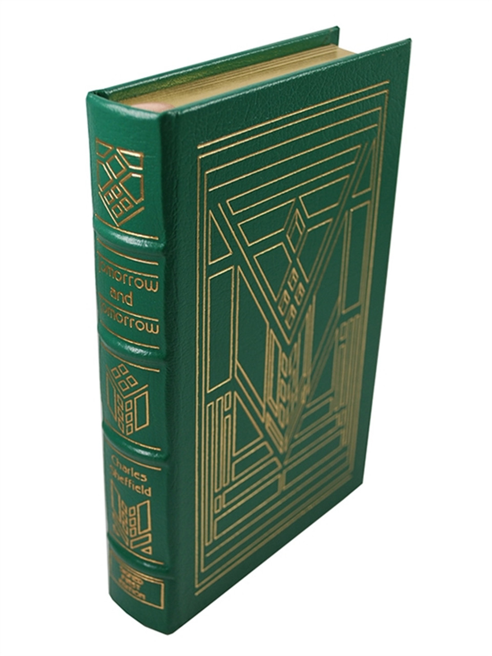 """Easton Press """"Tomorrow And Tomorrow"""" Charles Sheffield, Signed First Edition [Very Fine]"""