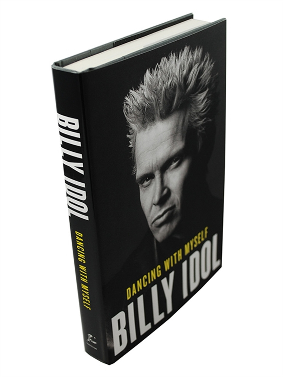 """Billy Idol """"Dancing With Myself"""" Signed First Edition dj/HC [Very Fine/Very Fine]"""