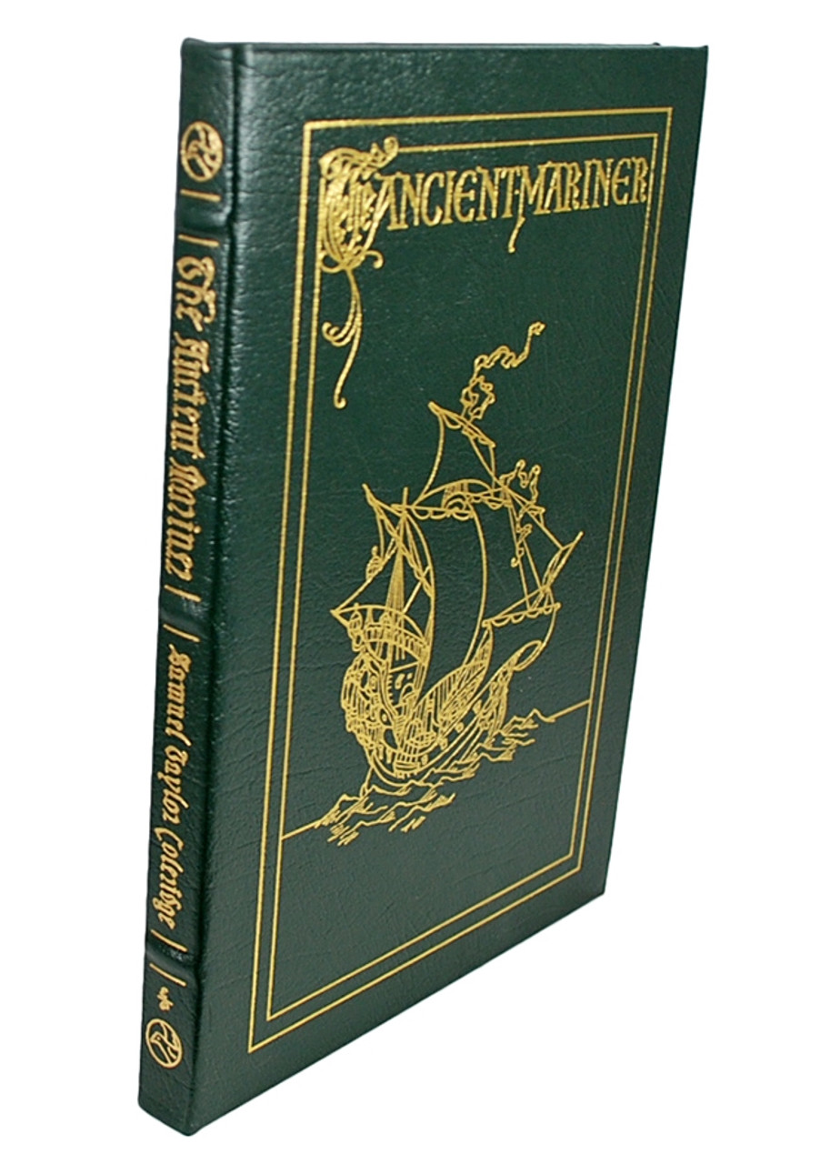 """Easton Press, Samuel Taylor Coleridge """"The Rime of the Ancient Mariner"""" Leather Bound Collector's Edition"""
