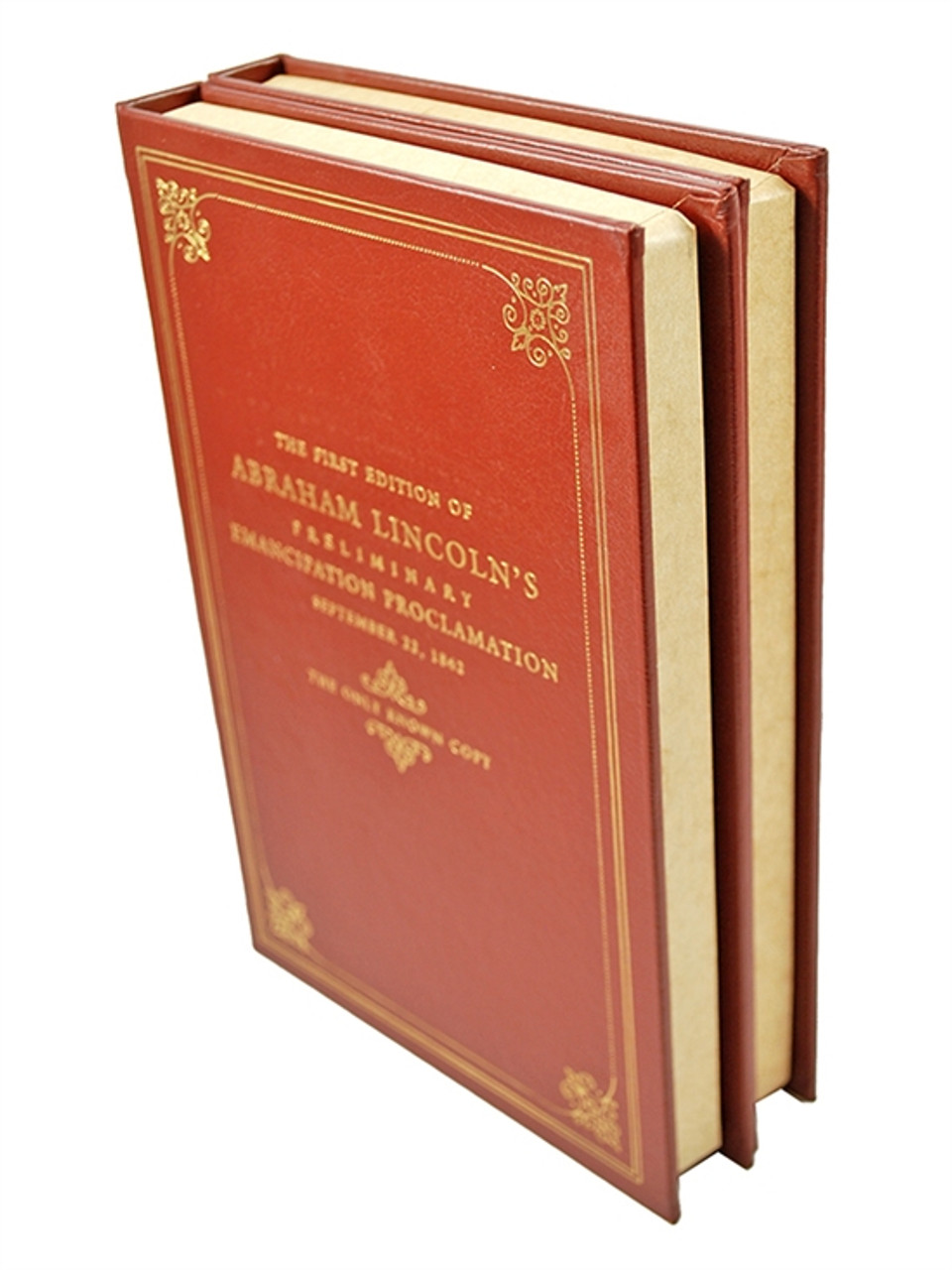 "Easton Press ""Emancipation Proclamation: Preliminary and Final Drafts"" Abraham Lincoln, Limited Collector's Edition [Very Fine]"