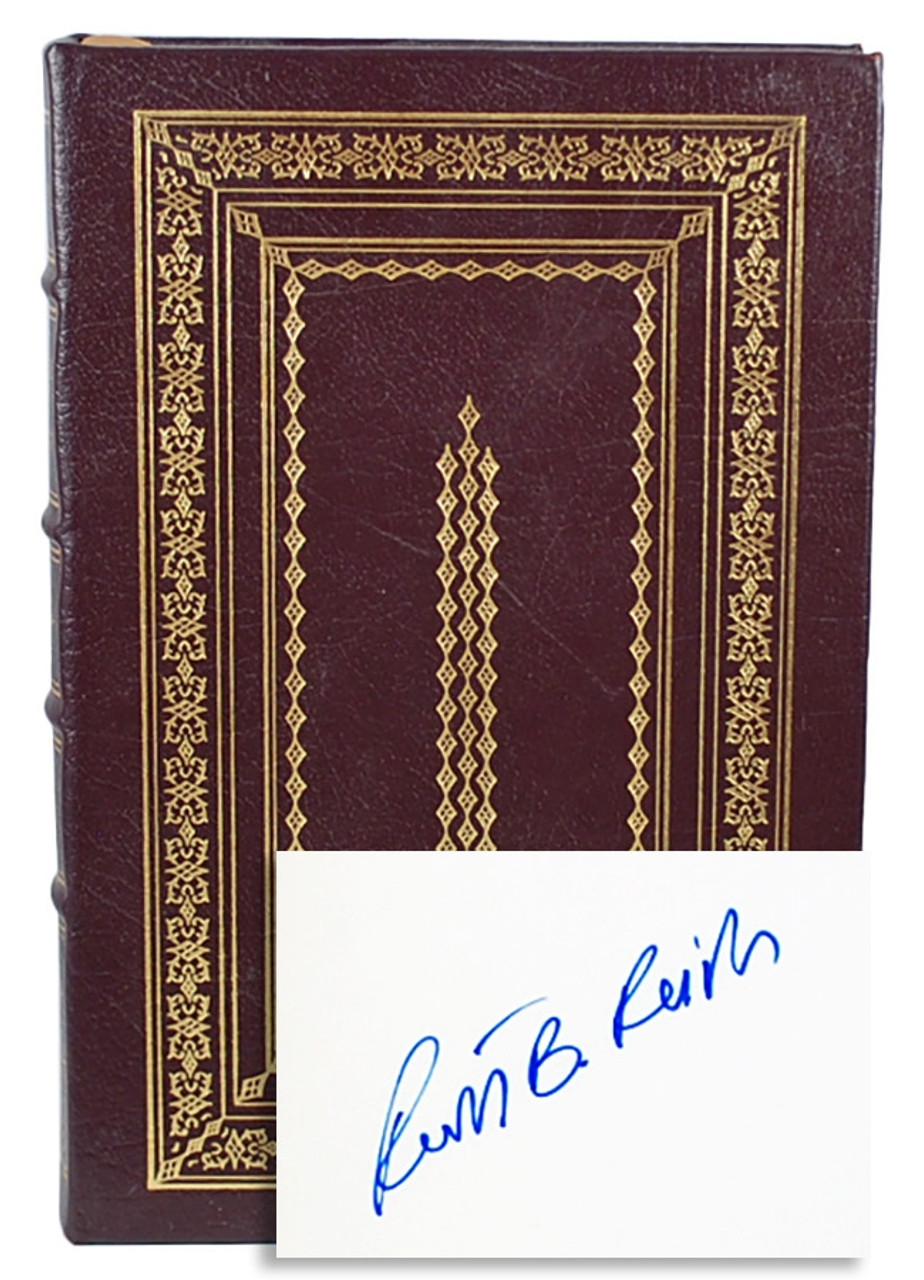 """Easton Press, Robert B. Reich """"Locked in the Cabinet"""" Signed First Edition"""