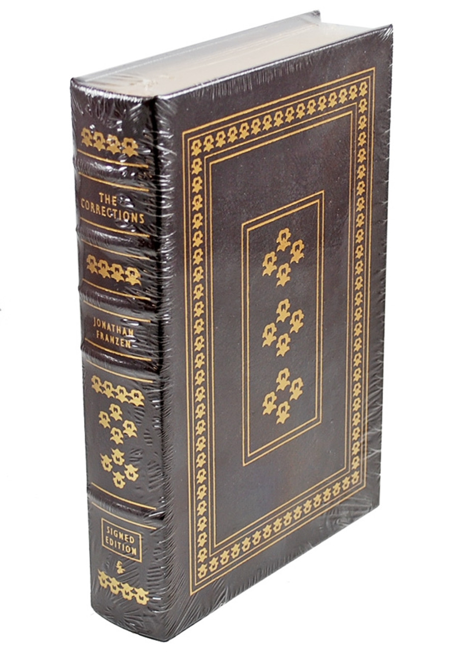 """Easton Press, Jonathan Franzen """"The Corrections"""" Signed Limited Edition,"""