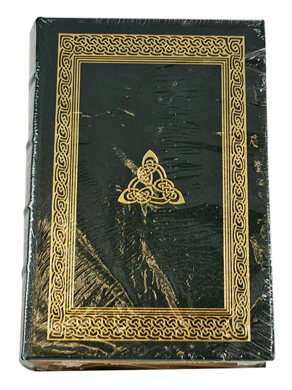 """Easton Press """"Trinity"""" Leon Uris, Signed Limited Edition (Very Fine) Collector's Notes w/COA"""