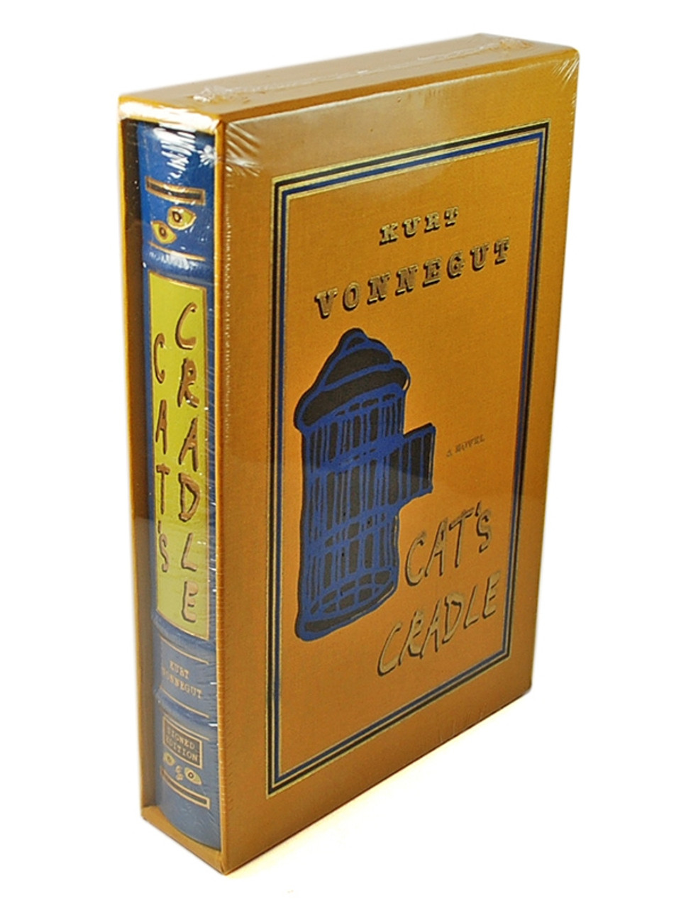 """Easton Press, Kurt Vonnegut """"Cat's Cradle"""" Signed Limited Deluxe Edition of only 500"""