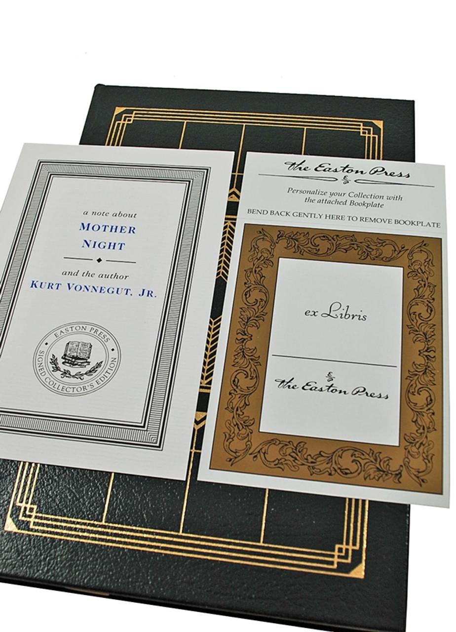 Easton Press Vonnegut Mother Night Signed Limited