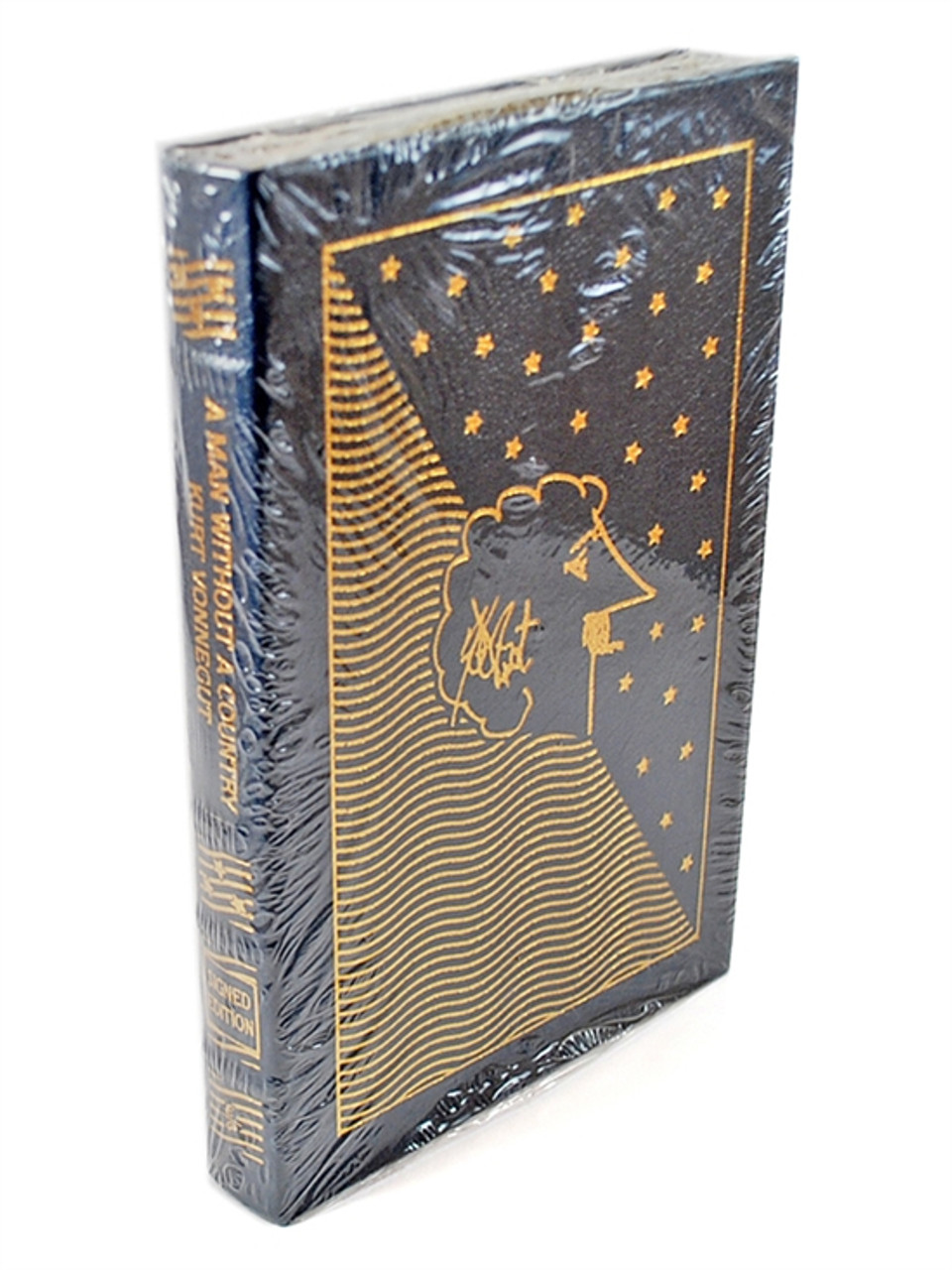 Signed by Kurt Vonnegut Man Without Country Easton Press