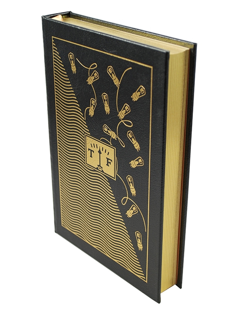 """Signed by Kurt Vonnegut """"Player Piano"""" Easton Press Leather Bound"""