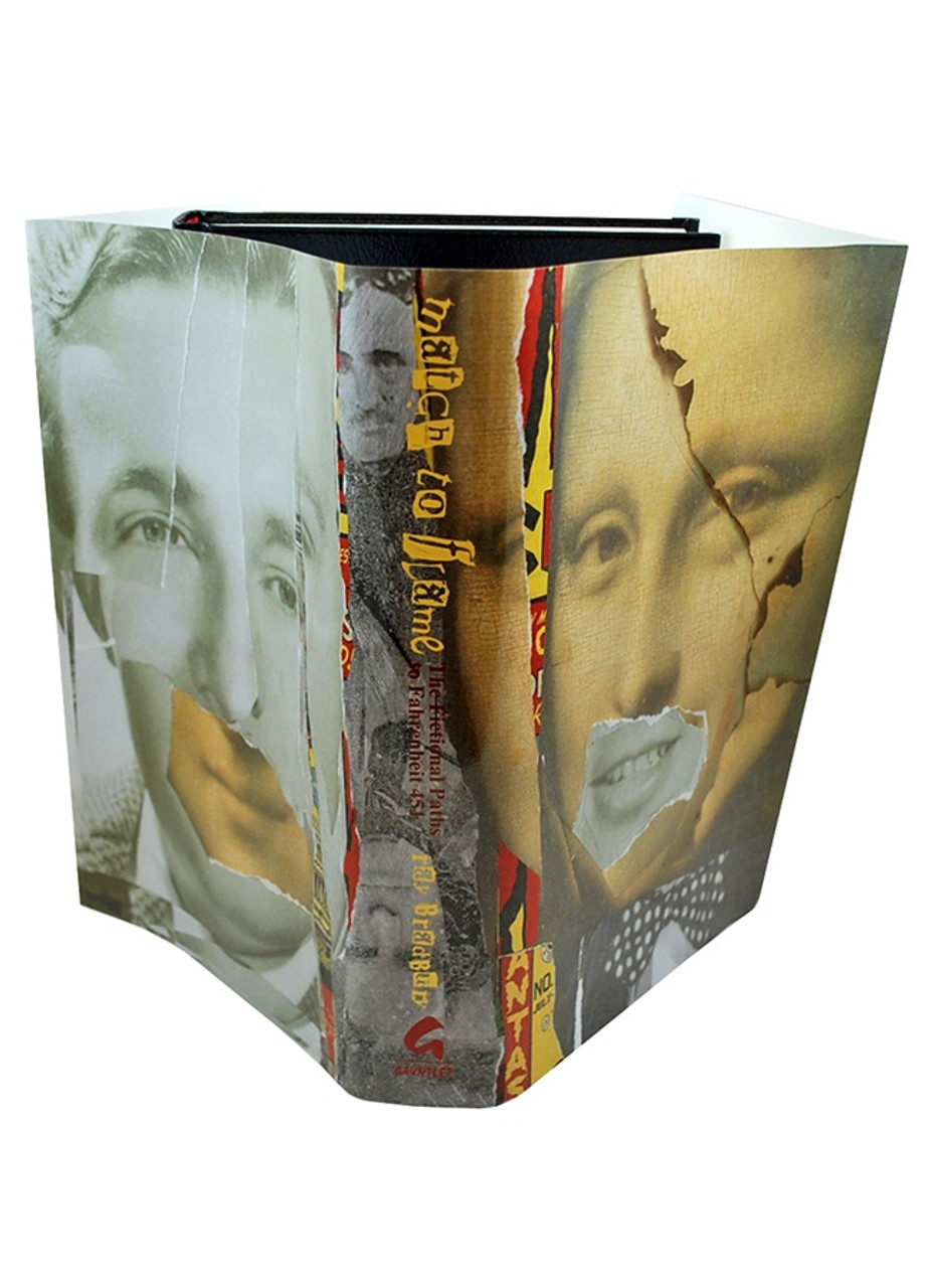 """Ray Bradbury """"Match To Flame"""" Deluxe Signed Lettered Edition, """"J"""" of 52 in tray-case [Very Fine]"""