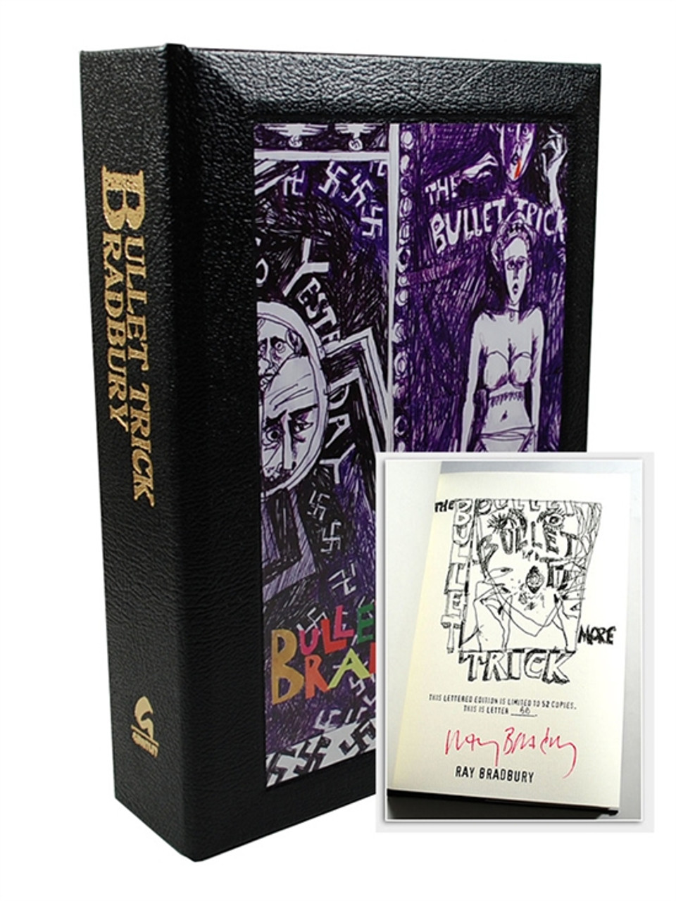 "Ray Bradbury ""Bullet Trick"" Deluxe Signed Limited Lettered Edition ""BB"" of 52 (As New)"