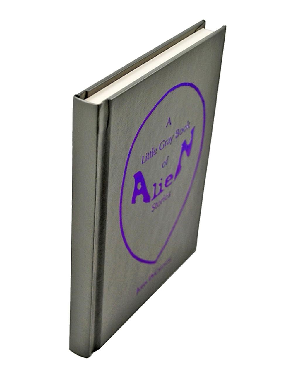 "Borderlands Press, John DeChancie ""A Little Gray Book Of Alien Stories"" Signed First Edition"