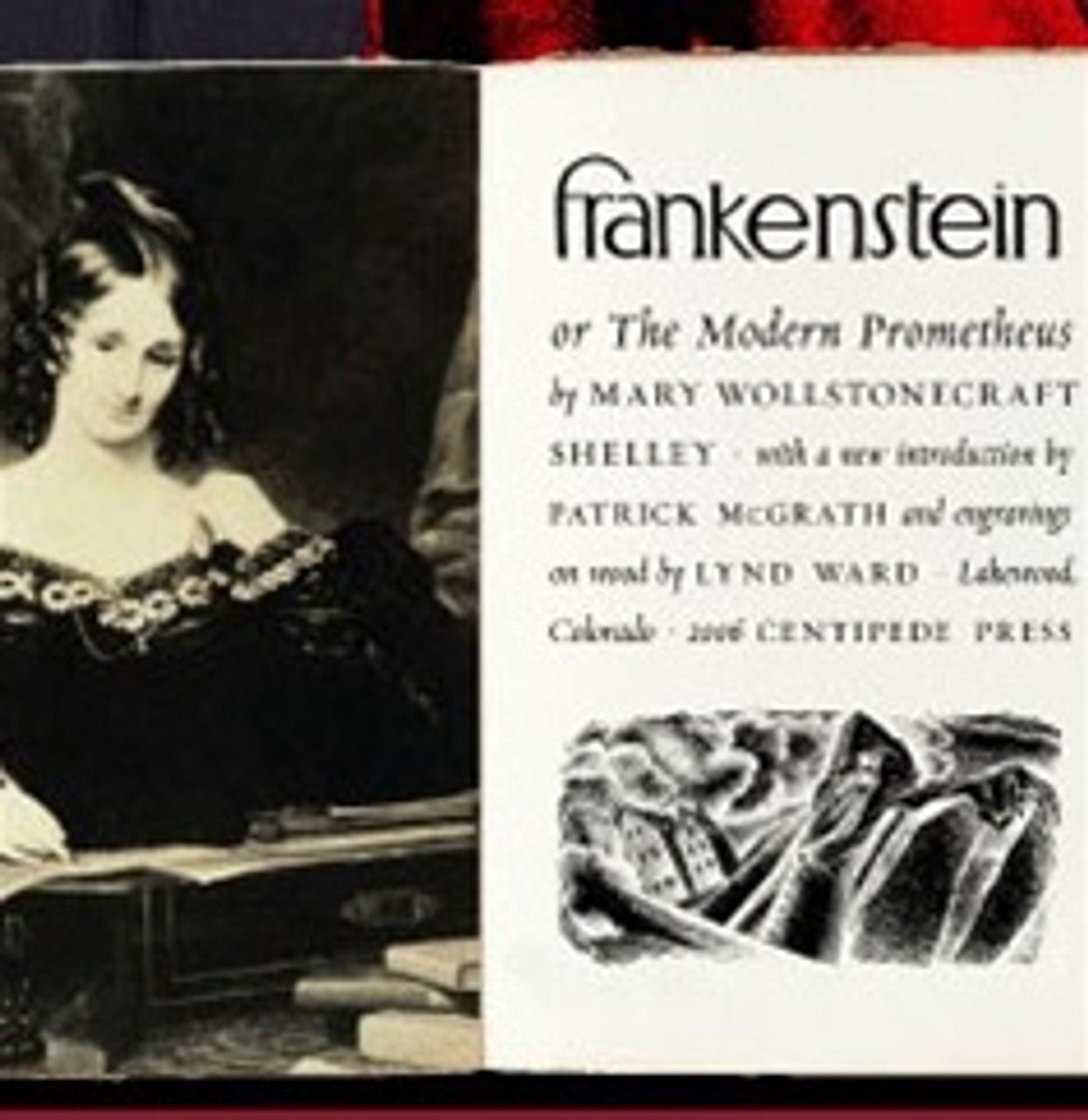 Frankenstein Mary Shelley Signed Lettered Edition Centipede Press