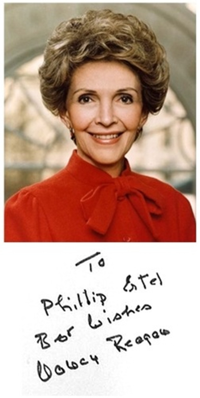 "Nancy Reagan ""My Turn: The Memoirs of Nancy Reagan"" Signed First Edition , Fine/Fine"