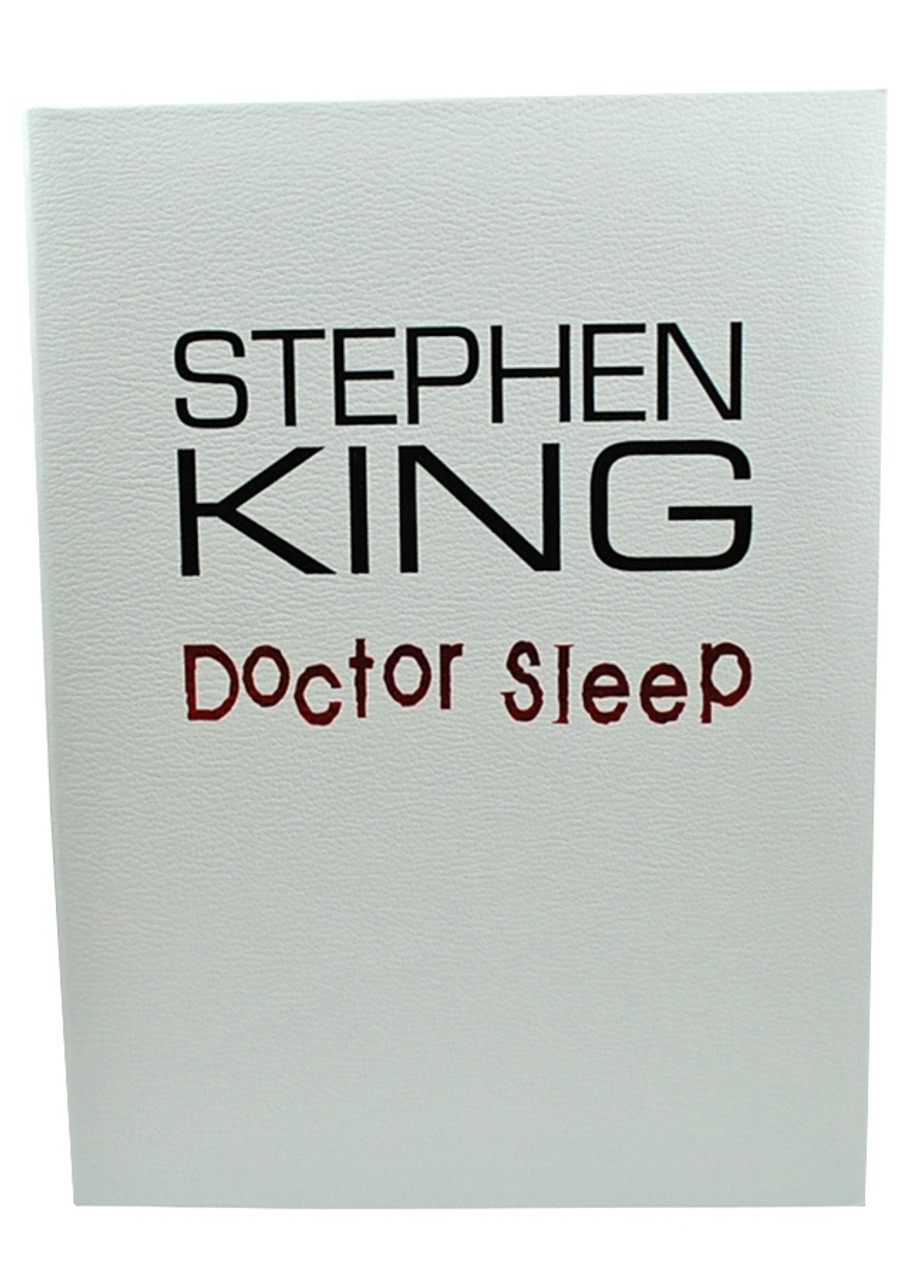 """Stephen King """"Doctor Sleep"""" Signed First Edition, First Printing, dj/HC (Very Fine/Very Fine)"""