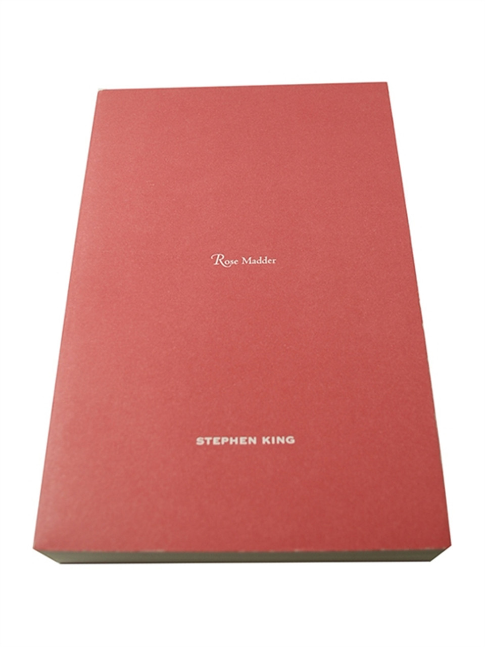 """Stephen King """"Rose Madder"""" Signed First Edition, Unrevised and Unpublished Proof"""