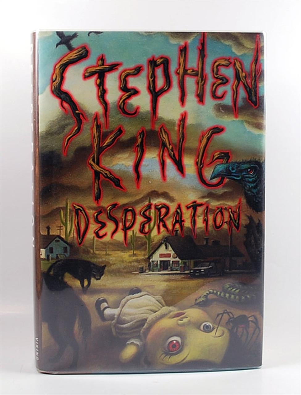 "Viking 1996, Stephen King ""Desperation"" Signed First Edition, dj/HC Fine/Fine"