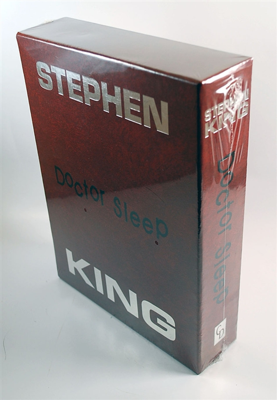 """Stephen King """"Doctor Sleep"""" Limited Deluxe Gift Edition of only 1,750 Slipcased  [Sealed]"""