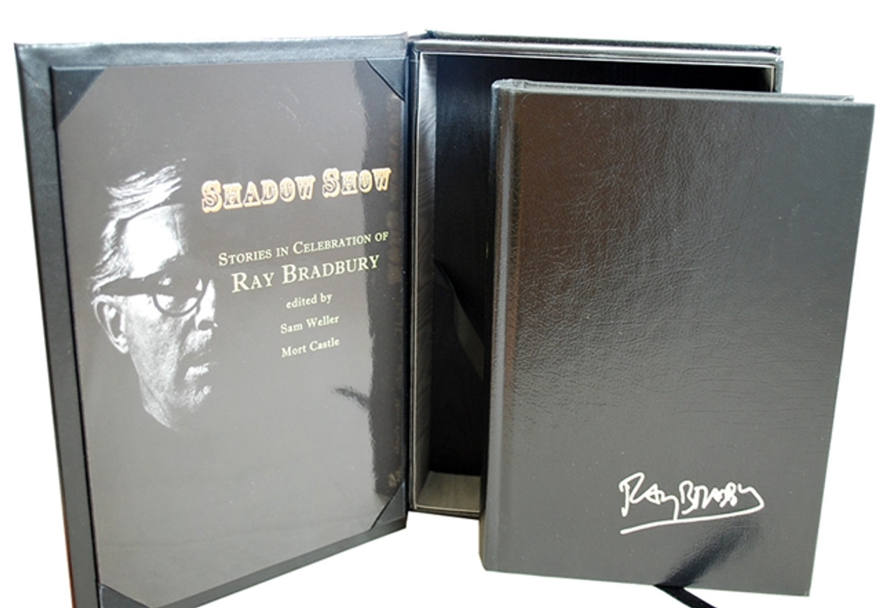 """Ray Bradbury """"Shadow Show"""" Deluxe Signed Lettered Edition, """"Y"""" in tray-case [Very Fine]"""