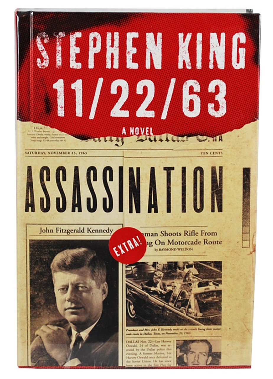 """Stephen King """"11/22/63"""" Signed First Edition - First Printing , Very Fine condition"""