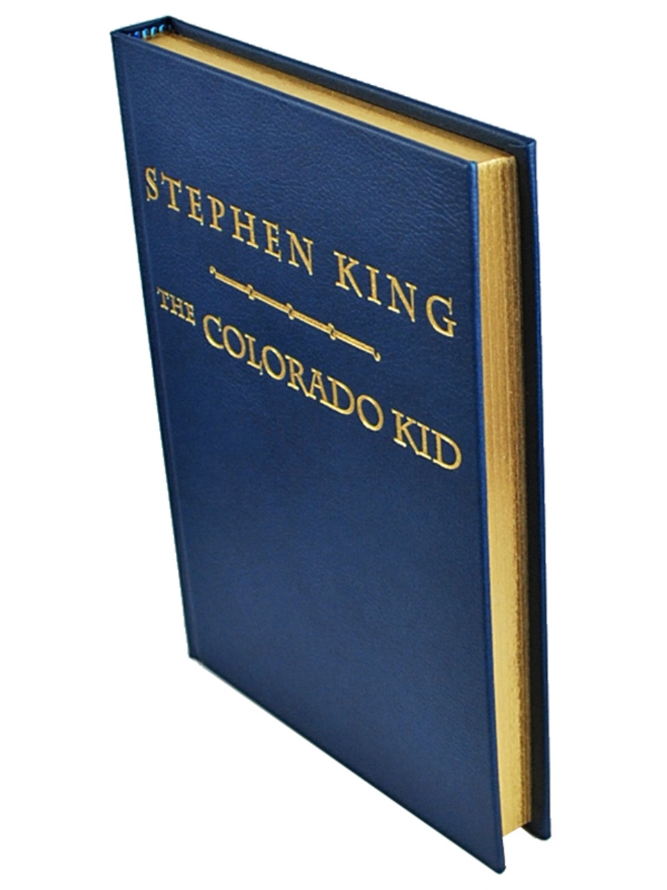 """Stephen King """"The Colorado Kid"""" Signed Lettered Edition #17 of only 33, Leather Bound"""