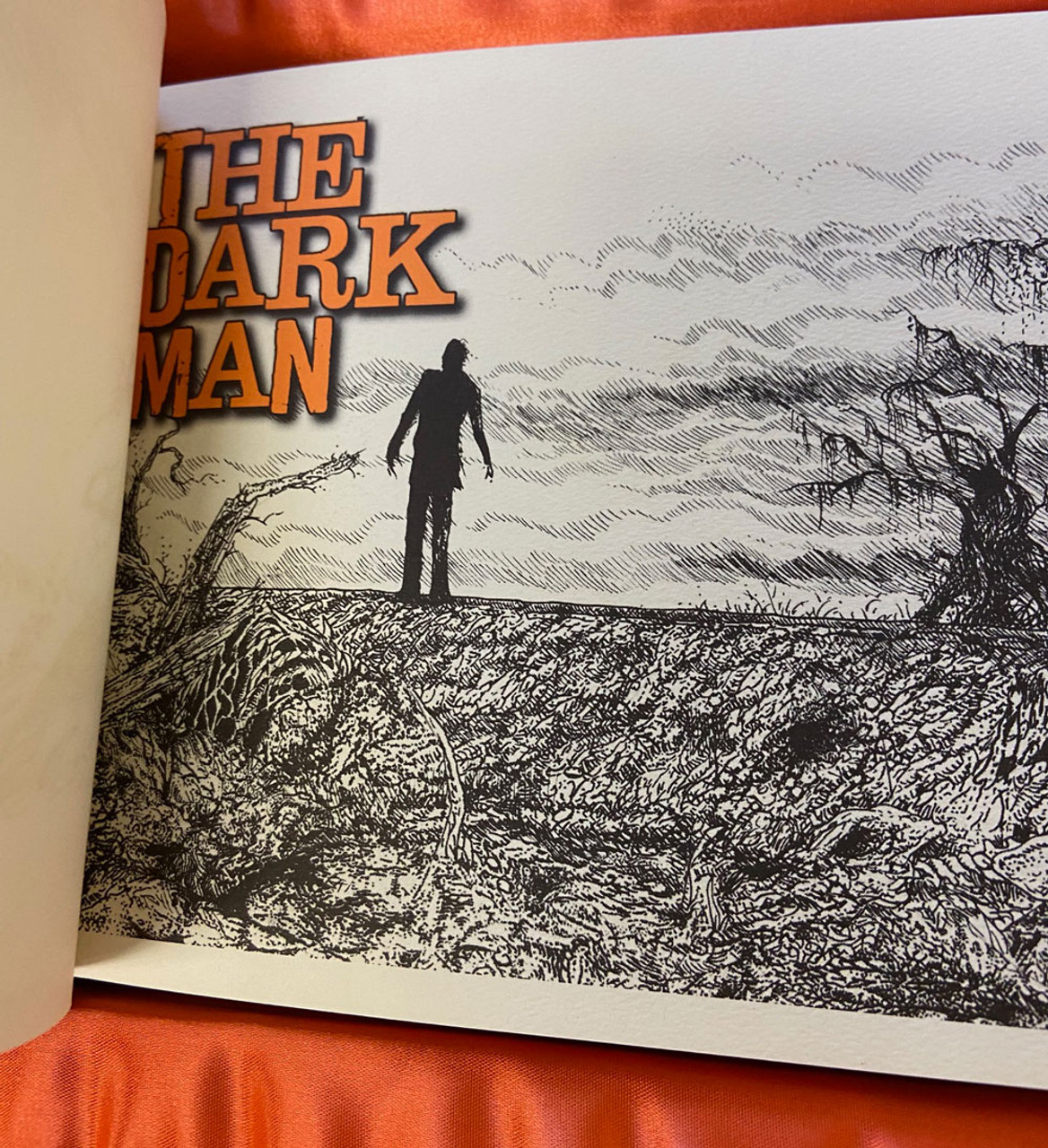 """Stephen King """"The Dark Man"""" Signed Lettered Edition PP of only 52 w/Deluxe Tray-Case + SIGNED ARTIST REMARQUE"""