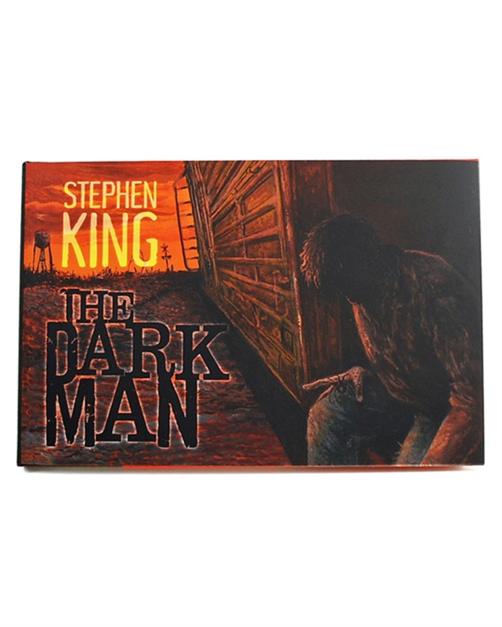 """Stephen King """"The Dark Man"""" Signed Lettered Edition QQ of only 52 w/Deluxe Tray-Case (As New)"""