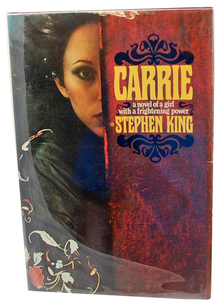 """Stephen King """"Carrie"""" Signed First Edition, First Printing, Fine/NF w/Tray Case"""
